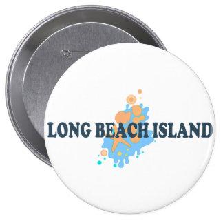 Isla de Long Beach Pin