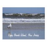 Isla de Long Beach, postal de NJ
