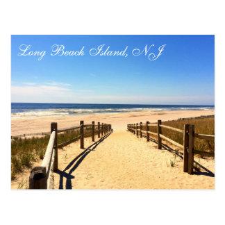 Isla de Long Beach, postal de NJ LBI