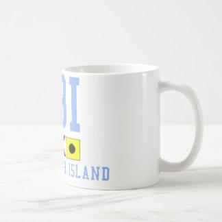 Isla de Long Beach Taza De Café