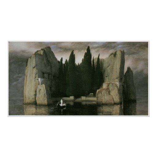 Isla de los muertos, Arnold 1883 Bocklin Posters