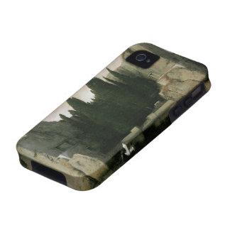 Isla de los muertos de Arnold Bocklin, arte del iPhone 4 Carcasas