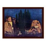 Isla de los muertos de Böcklin Arnold Tarjeta Postal