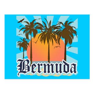 Isla de los recuerdos de Bermudas Postal