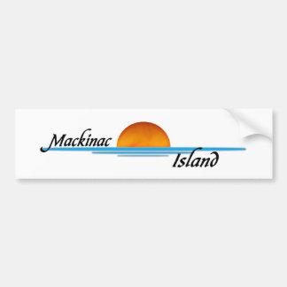 Isla de Mackinac Pegatina De Parachoque