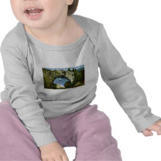 Isla de Mackinac de la roca del arco, Michigan Camiseta