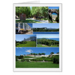 Isla de Mackinac, Michigan, tarjeta del collage