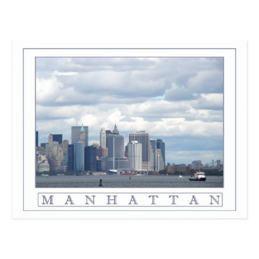 Isla de Manhattan Tarjetas Postales