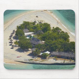 Isla de mar del sur, islas de Mamanuca, Fiji Alfombrillas De Ratón