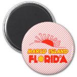 Isla de Marco, la Florida Imán Para Frigorífico