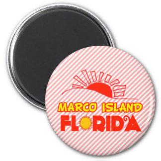 Isla de Marco la Florida Imán Para Frigorífico