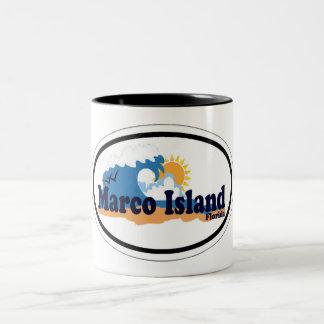 Isla de Marco Tazas De Café
