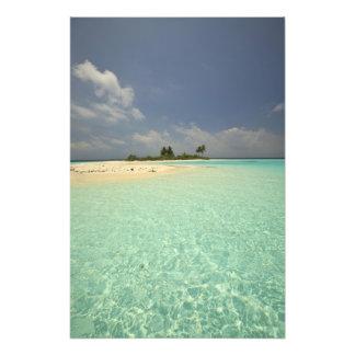 Isla de Mathidhoo, Huvadhoo deshabitado, del norte Arte Con Fotos