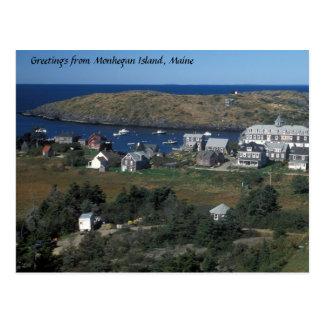 Isla de Monhegan, Maine Postal