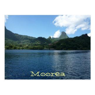 Isla de Moorea, Polinesia francesa Tarjeta Postal