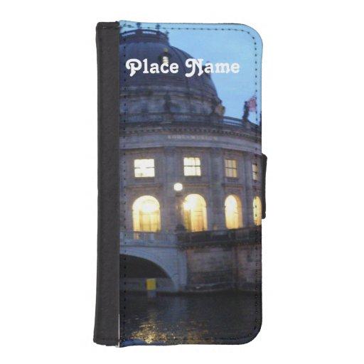 Isla de museo Berlín Fundas Tipo Cartera Para iPhone 5