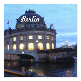 Isla de museo Berlín Invitación 13,3 Cm X 13,3cm