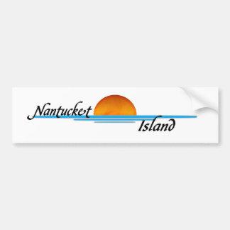 Isla de Nantucket Pegatina Para Auto