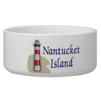 Isla de Nantucket Comedero Para Mascota