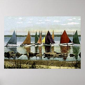 Isla de Nantucket, Massachusetts Poster