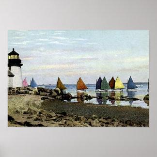 Isla de Nantucket, Massachusetts Posters