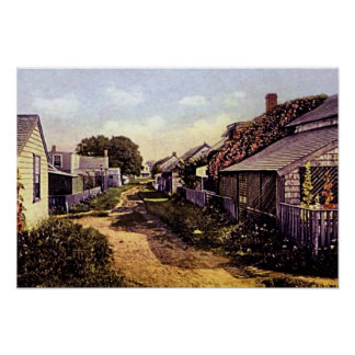 Isla de Nantucket, Massachusetts Póster