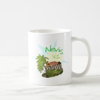 Isla de Nevis Tazas