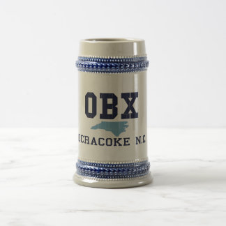 Isla de Ocracoke Jarra De Cerveza