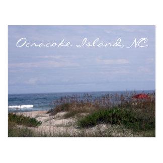 Isla de Ocracoke, postal del NC