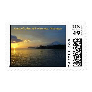 Isla de Ometepe, Nicaragua Postage