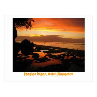 Isla de Panglao, Bohol Filipinas Tarjetas Postales