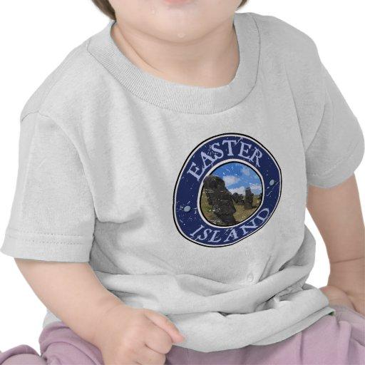 Isla de pascua camiseta