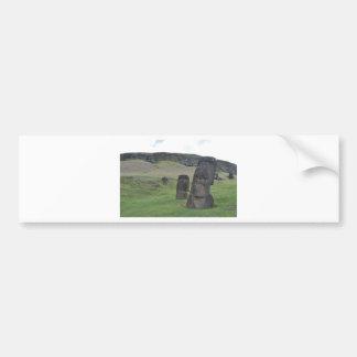 Isla de pascua Moai Pegatina Para Auto