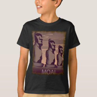 Isla de pascua Moai Playera