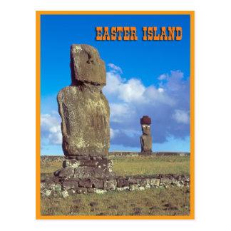 Isla de pascua postales
