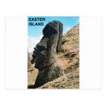 Isla de pascua tarjeta postal