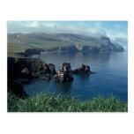 Isla de Pasillo, mar de Bering Tarjetas Postales