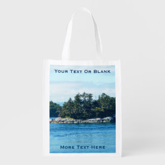 Isla de Salish Bolsas Reutilizables