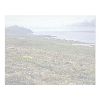 Isla de San Jorge, Pribilofs 1987 Invitación 10,8 X 13,9 Cm