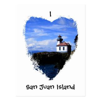 Isla de San Juan Postales