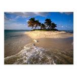 Isla de Sandy, Anguila, del Caribe Tarjeta Postal