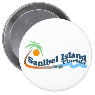 Isla de Sanibel Pin Redondo 10 Cm