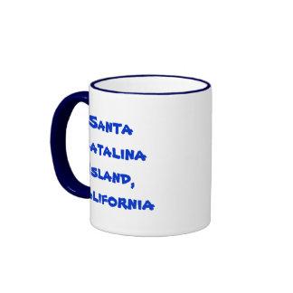 Isla de Santa Catalina Tazas De Café