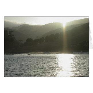 Isla de Santa Cruz, ensenada de los Tarjeta De Felicitación