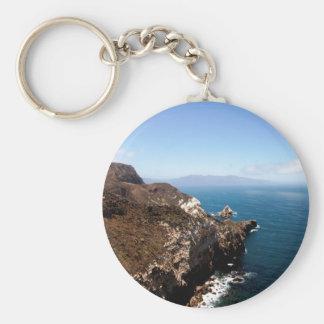 Isla de Santa Cruz Llaveros Personalizados