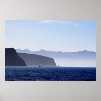 Isla de Santa Cruz Póster