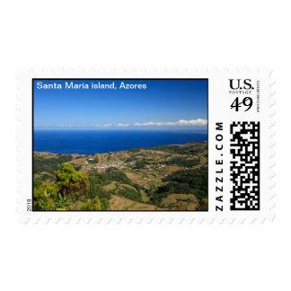 Isla de Santa María Sello