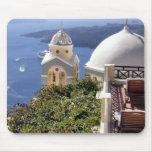 Isla de Santorini Alfombrilla De Ratones