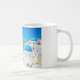 Isla de Santorini - caldera, Grecia Taza Clásica