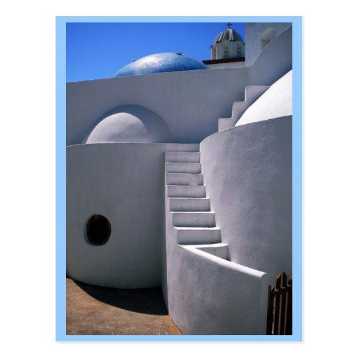 Isla de Santorini Grecia Tarjetas Postales